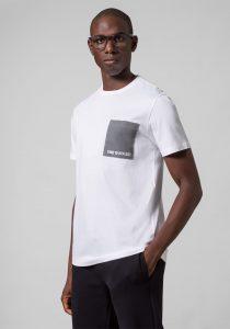 Baldessarini B4 20022.5015 1010 vīriešu T-krekls, balts