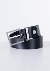 Calvin Klein Jeans K50K504301001 vīriešu josta, melna
