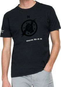 replay M3457.000.23178G998 vīriešu T-krekls, melns