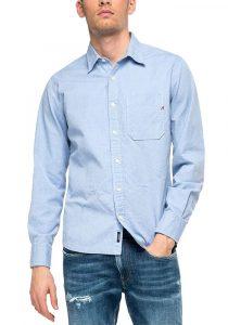 Replay M4054.000.52454010 vīriešu krekls, zils
