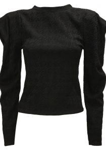 Vanessa Scott MGB017NERO sieviešu džemperis, melns