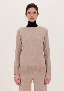 Max Mara Leisure MOSA2 sieviešu džemperi, gaiši brūns