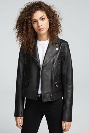 Karl Lagerfeld 205W1900999 sieviešu virsjaka, melna