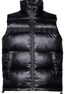Karl Lagerfeld 505010512503990 vīriešu veste, melna