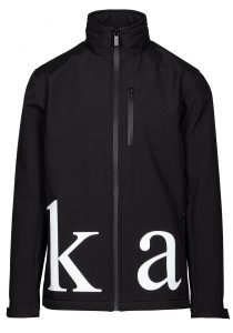 Karl Lagerfeld 505016 512513 990 vīriešu vējjaka, melna