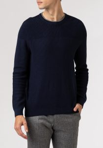 Daniel Hechter 65005112803680 vīriešu džemperis, zils