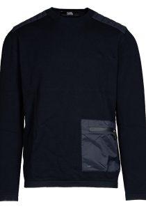 Karl Lagerfeld 655030 512301 690 vīriešu džemperis, zils