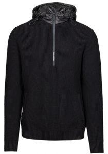 Karl Lagerfeld 655032 512301 990 vīriešu džemperis, melns
