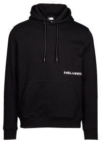 Karl Lagerfeld 705023 512900 990 vīriešu džemperis, melns