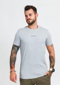 Calvin Klein Jeans J30J318067PS8 vīriešu T-krekls, pelēks