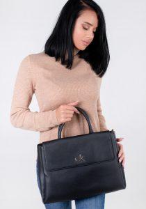 Calvin Klein Jeans K60K608411BAX sieviešu soma, melna